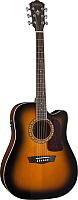 Электроакустическая гитара Washburn HD10SCETB -