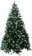Ель искусственная Green Year SYCT-1713D (1.5м, зеленый с белыми кончиками) -