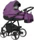 Детская универсальная коляска Riko Re-Flex 3 в 1 (07/plum) -