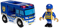 Элемент железной дороги Brio Полицейский фургон 33825 -