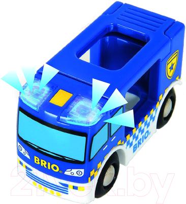 Элемент железной дороги Brio Полицейский фургон 33825