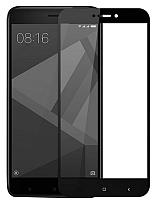 Защитное стекло для телефона Case Soft Edge для Xiaomi Redmi Note 4X (черный) -