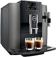 Кофемашина/кофеварка Jura E8 / 15157 (нержавеющая сталь) -