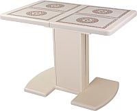 Обеденный стол Домотека Шарди ПР 05 (ПЛ-52/кремовый) -