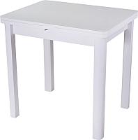 Обеденный стол Домотека Чинзано М2 04 (белый/белый) -