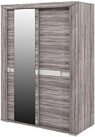Шкаф Мебель-Неман Кристалл МН-131-03 (дуб сонома/трюфель) -