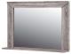 Зеркало интерьерное Мебель-Неман Кристалл МН-131-08 (дуб сонома/трюфель) -