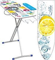 Гладильная доска Ника 4+ / Н4+ (капли воды с лимоном) -