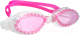 Очки для плавания Sabriasport G826 (розовый) -