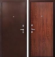 Входная дверь Фактор К Соната темный орех (98x205, левая) -