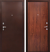 Входная дверь Фактор К Соната темный орех (98x205, правая) -