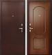 Входная дверь Фактор К ФЛ 117 темный орех (88x205, левая) -