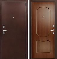 Входная дверь Фактор К ФЛ 117 темный орех (98x205, правая) -