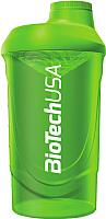 Шейкер спортивный BioTechUSA Wave I00001093 (зеленый) -