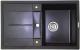 Мойка кухонная Lava L6 (чёрный металлик) -