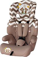 Автокресло Lorelli Junior Beige Daisy Bears (10070821730) -
