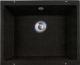 Мойка кухонная Lava U1 (черный металлик) -
