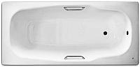 Ванна стальная BLB Atlantica 170x80 (с шумоизоляцией и отв. для ручек) -