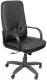 Кресло офисное Евростиль Менеджер Стандарт Split кожа (черный) -