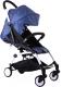 Детская прогулочная коляска Yoya Miniapple DHBS008/DBWF (темно-синий/белый) -
