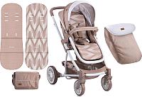 Детская прогулочная коляска Lorelli S-500 Beige (10020931738) -