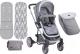 Детская прогулочная коляска Lorelli S-500 Grey (10020931737) -