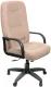 Кресло офисное Евростиль Пилот Стандарт Флок (коричневый) -