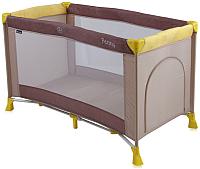 Кровать-манеж Lorelli Penny Beige Yellow (10080281726) -