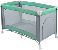 Кровать-манеж Lorelli Penny Green Grey (10080281727) -
