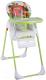 Стульчик для кормления Lorelli Tutti Frutti Green Hadgehog (10100261709) -
