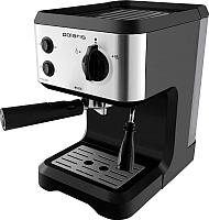 Кофеварка эспрессо Polaris PCM 1517AE (нержавеющая сталь/черный) -