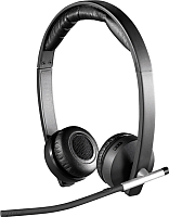 Наушники-гарнитура Logitech Wireless Headset Dual H820e / 981-000517 -