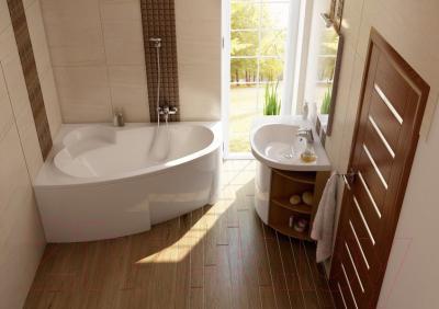 Ванна акриловая Ravak Asymmetric 160x105 R (C471000000)