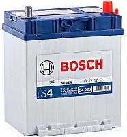 Автомобильный аккумулятор Bosch S4 Asia Silver 40 JR / 0092S40300 (с бортом) -