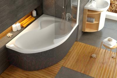 Ванна акриловая Ravak Rosa II PU Plus 160x105 R (CL210P0000)