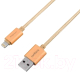 Кабель USB Rombica Digital CB-C2A0G (золото) -
