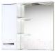 Шкаф с зеркалом для ванной Акваль Виола 80 (AV.04.80.00.L) -