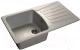 Мойка кухонная GranFest Standart GF-S850L (серый) -