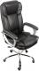 Кресло офисное Деловая обстановка Лагуна Люкс Хром (черный) -