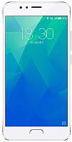 Смартфон Meizu M5s 16Gb / M612H (серебристый) -