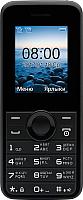 Мобильный телефон Philips E106 (черный) -