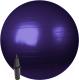 Фитбол гладкий Sundays Fitness IR97402-75 (фиолетовый, с насососм) -