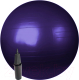 Фитбол гладкий Sundays Fitness IR97402-65 (фиолетовый, с насосом) -