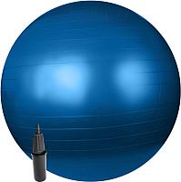 Фитбол гладкий Sundays Fitness IR97402-75 (голубой, с насосом) -