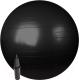 Фитбол гладкий Sundays Fitness IR97402-75 (черный, с насосом) -