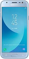 Смартфон Samsung Galaxy J3 (2017) / SM-J330F/DS (серебристый) -
