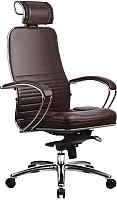 Кресло офисное Metta Samurai KL-2 (коричневый) -