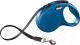 Поводок-рулетка Flexi New Classic ремень (M, синий) -