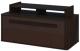 Тумба Мебель-Неман Браво МН-127-06 (орех шоколадный/мокко) -