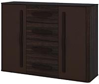 Тумба Мебель-Неман Браво МН-127-09 (орех шоколадный/мокко) -